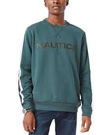 Men's Embroidered Logo Fleece Sweatshirt