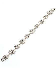 Crystal Cluster Link Bracelet