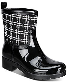 Charter Club Trudyy Rain Boots, Created for Macy's