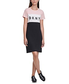 Sport Colorblocked Logo Sneaker Dress