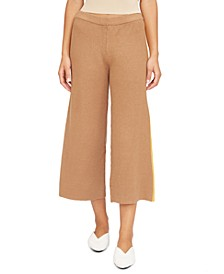 Willow Wide Leg Cropped Track Pants