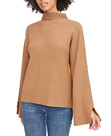 Willow Mock Neck Knit Sweater