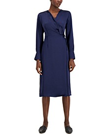 Faux-Wrap Dress, Created for Macy's
