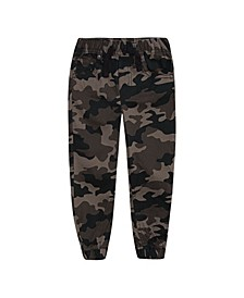 Toddler Boys Camo Twill Joggers