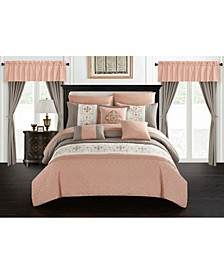 Emily 20 Piece King Bed In a Bag Comforter Set