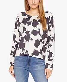 Camo-Print Sweater