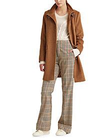 Lauren Ralph Lauren Petite Wool-Blend Coat, Created For Macy's