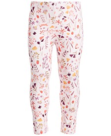 Baby Girls Fox Floral Legging, Created for Macy's