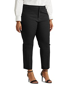 Plus Size Stretch-Infused Pants
