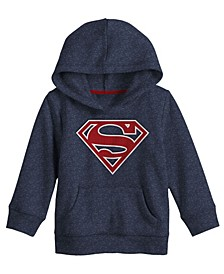 Superman Shield Pullover Big Boys Hoodie