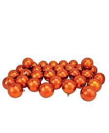 32 Count Shatterproof Shiny Christmas Ball Ornaments