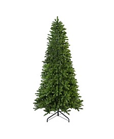 Unlit Slim Eastern Pine Artificial Christmas Tree