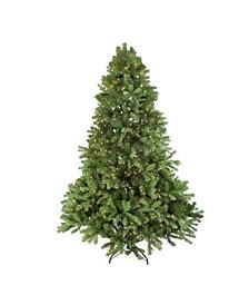 Pre-Lit Full Noble Fir Artificial Christmas Tree