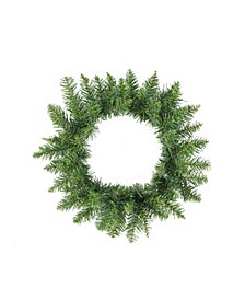 Buffalo Fir Artificial Christmas Wreath-Unlit