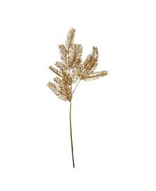 Glitter Pine Artificial Christmas Spray