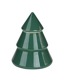 Contemporary Ceramic Christmas Tree Container
