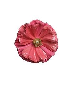 Shiny Poppy Christmas Clip Ornament