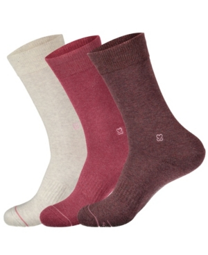 Crew Socks That Promote Breast Cancer Prevention Set of 3
