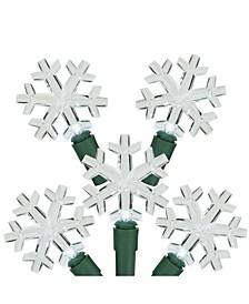 LED Snowflake Christmas Light