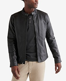 Men's Clean Leather Bonneville Jacket