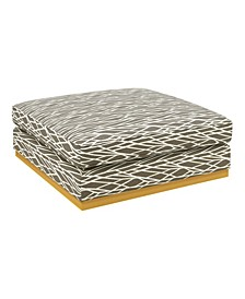 Square Upholstered Cocktail Ottoman
