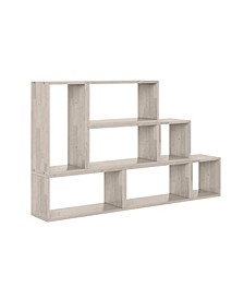 Rhodes Modern 7 Block Wood Shelving Set