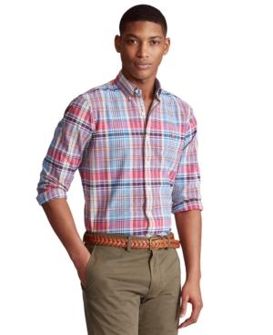 Polo Ralph Lauren Men's Classic-Fit Striped Oxford Shirt