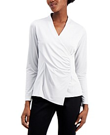 Wrap-Style Top, Created for Macy's