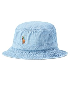 Men's Chambray Bucket Hat
