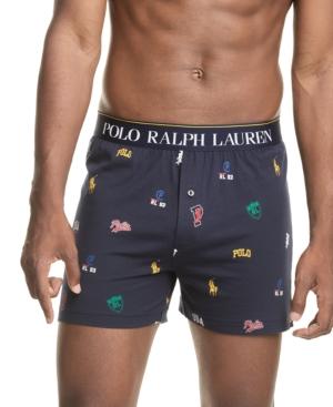 Polo Ralph Lauren Men's Signature-Print Knit Boxers