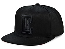 Los Angeles Clippers Under The Black Snapback Cap