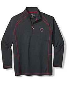 Ohio State Buckeyes Men's Final Score Half Zip Pullover