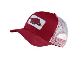 Nike Arkansas Razorbacks Patch Trucker Cap