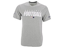New England Patriots Men's Dri-Fit Cotton Football All T-Shirt