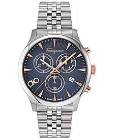 Men's Swiss Chronograph Duo Stainless Steel Bracelet Watch 42mm