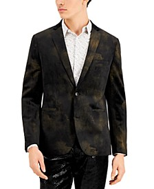 INC Men's Velvet Slim-Fit Jay Blazer, Created for Macy's