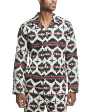 Polo Ralph Lauren Men's Printed Cotton Flannel Pajama Shirt