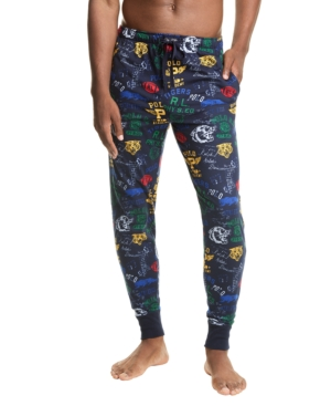 Polo Ralph Lauren Printed Knit Jogger Pajama Pants