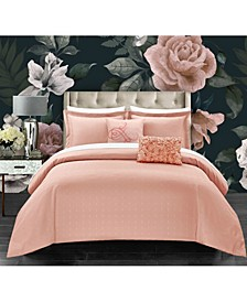 Emery 9 Piece Queen Comforter Set