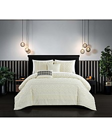 Addison 5 Piece Queen Comforter Set