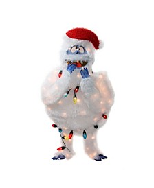 Pre-Lit Rudolph The Red-Nosed Reindeer Bumble Christmas Outdoor Decoration