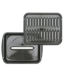 Convection Porcelain Broiler Grill Pan