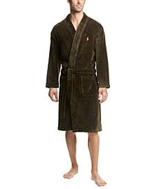 Men's Velour Large Pony Robe