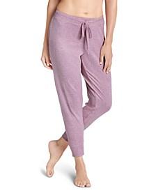 Ultra-Soft Ribbed Loungewear Jogger Pants