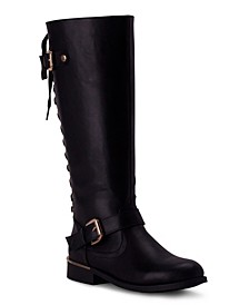Women's Lounge Lace-Back Riding Boots