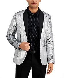 INC Men's Slim-Fit Sequin Blazer, Created for Macy's
