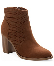 Adrien Perfed Booties, Created for Macy's