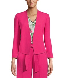 Collarless Blazer, Created for Macy's
