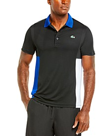 Men's SPORT Short Sleeve Ultra Dry Colorblock Polo Shirt