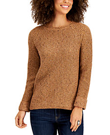Style & Co Pointelle Sweater, in Regular & Petite, Created for Macy's